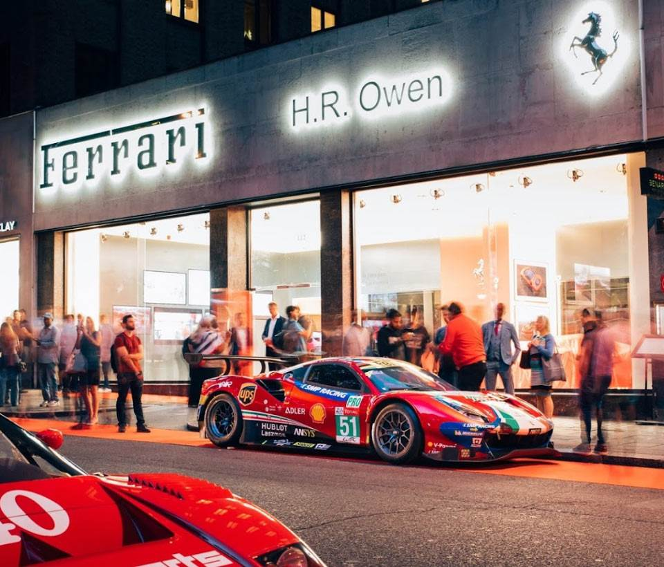 H.R. Owen Ferrari Mayfair